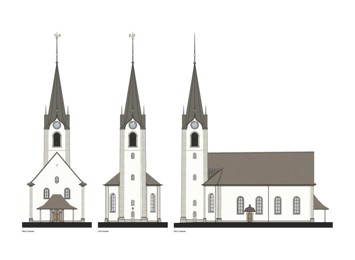 Sanierung Evangelisch reformierte Kirche St. Margrethen