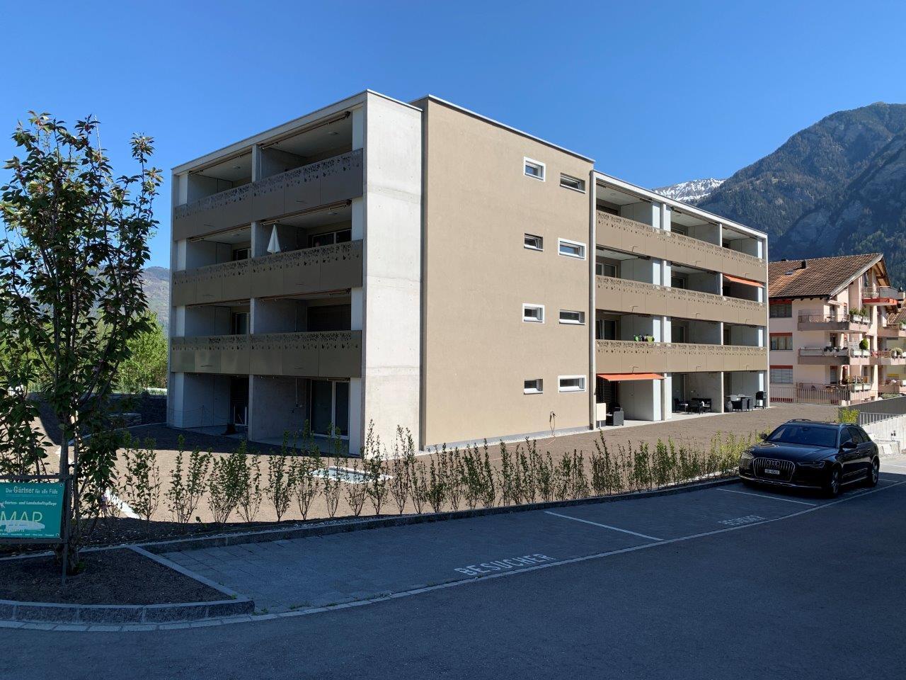 Mehrfamilienhaus Neubau Thusis-Bachweg/ GR